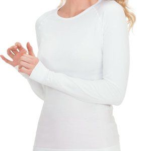 Koi Lite Divine Seamless Solid Long Sleeve T-Shirt